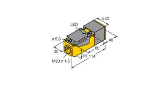 电感式传感器  NI20-CP40-Y2X