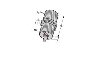 电感式传感器 BI20-G47-Y1X