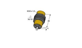 电感式传感器 带有扩展检测范围 NI15-P30-Y1/S100