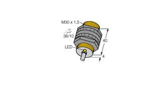 电感式传感器 温度扩展型 NI15-P30-Y1X/S97