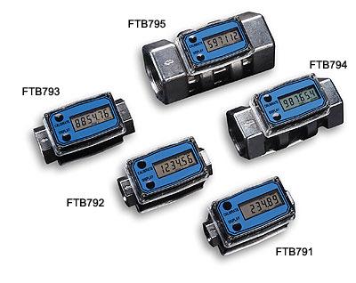 欧米茄FTB790系列涡轮流量计带本地数字显示屏