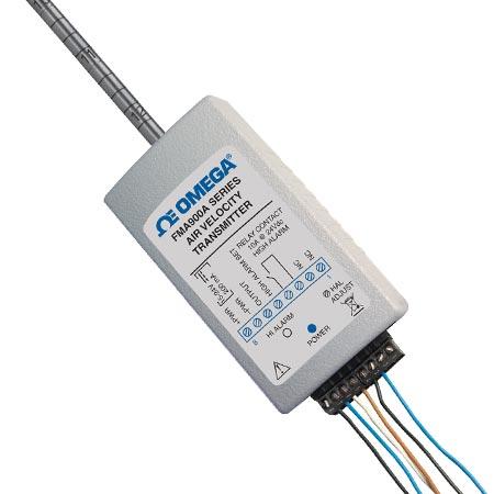 欧米茄FMA900A系列变送器工业用空气流速变送器