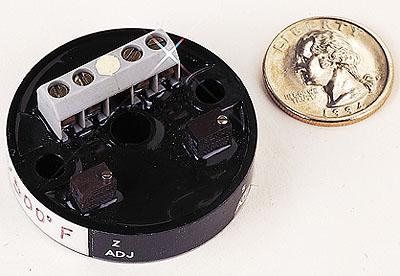 欧米茄TX93 TX94和TX95小型温度变送器超低轮廓设计