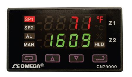 欧米茄CN79000系列采用模糊逻辑的1?32双温区 控制器