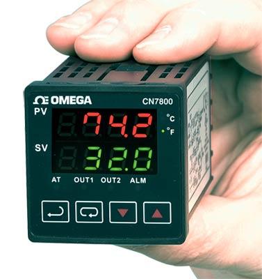 欧米茄CN7800系列1?16 DIN斜坡/恒值 控制器