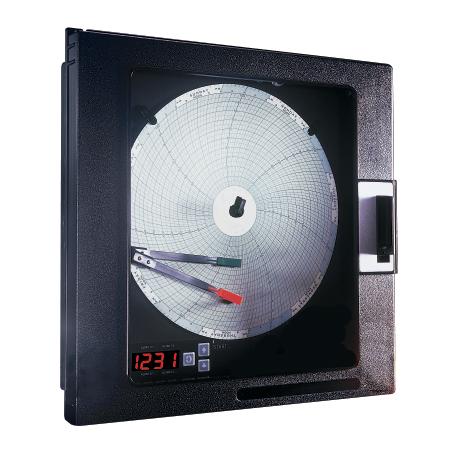 欧米怯CT5100系列1通道或2通道 圆形图表记录仪