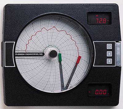 欧米茄CT7000系列圆形图表记录仪