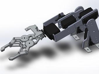 想玩机器人 没有伺服怎么行?