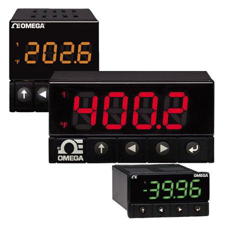 欧米茄DP32Pt、DP16Pt 和 DP8Pt 系列数字面板仪表