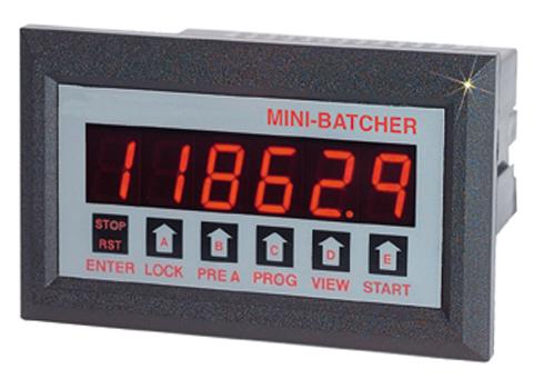 欧米茄DPF111?8 DIN批量控制器扩频输入