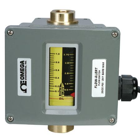欧米茄FL-6101B系列 管路流量计带有限位开关
