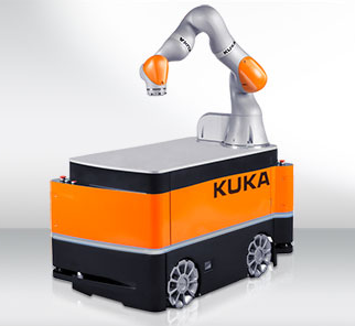 發現靈活自動化解決方案的新領域:KUKA KMR IIWA