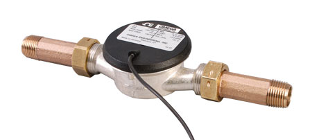 欧米茄FTB4600系列长寿命脉冲输出水表用于远程流速显示或累加