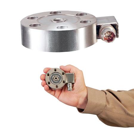 欧米茄LCMHD系列 低轮廓张力或压缩力称重传感器饼式