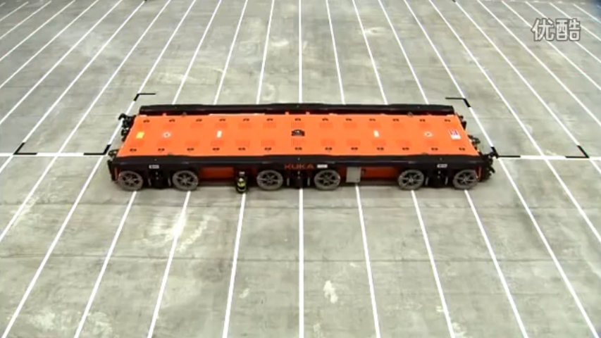 KUKA OMNIMOVE重负荷平台:可在非常窄的空间上灵活行驶