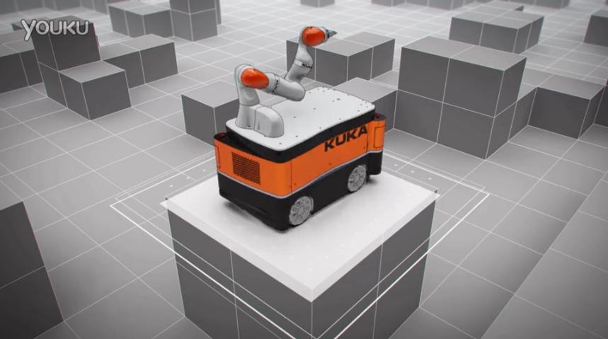 KUKA移动平台 - 独特的驱动概念
