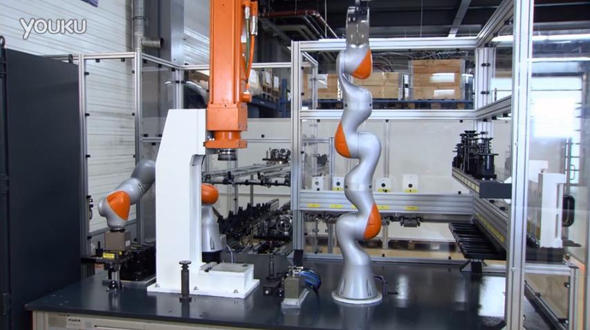 KUKA LBR iiwa组装KR QUANTEC机器人