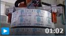 KUKA工业机器人胶带生产线堆垛