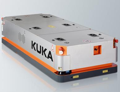 KUKA KMP 1500:自由无限的机动能力、自主导航、为工业 4.0 准备就绪
