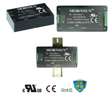 60W LH60-20Bxx系列高效绿色AC-DC 模块电源