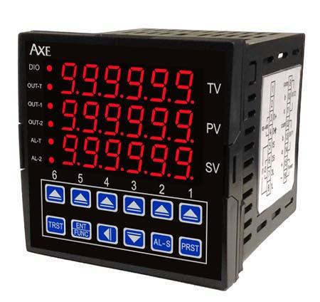 AXE钜斧6位数单/双段设定+6位数累积计数器MT726