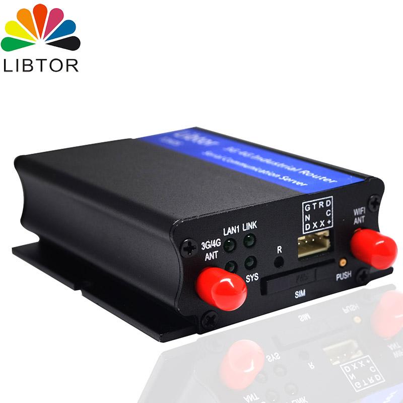 力必拓  LTE 4G全網通 工業路由器