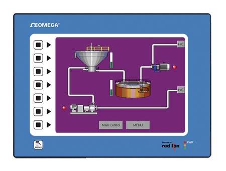 omegaG3 HMI 系列图形操作界面终端