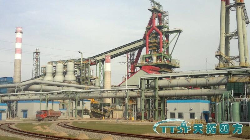 山西文水海威钢铁公司高炉项目