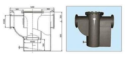 TCYS型排水阻油器