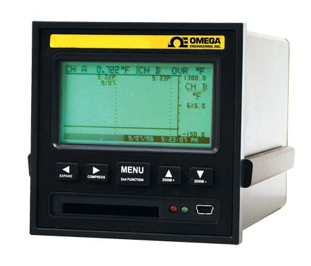 omegaRD8250 系列无纸记录仪