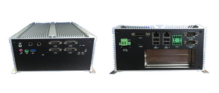 深圳聚芸PCI/PCIE扩展数控系统机器人专用无风扇运动控制工控机