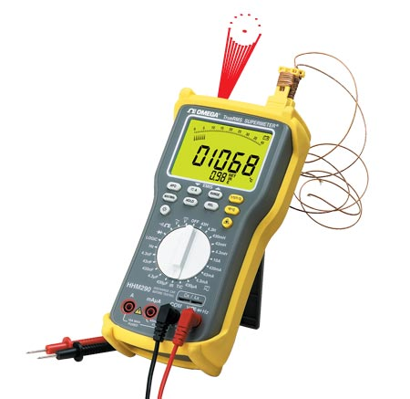 激光瞄准非接触式温度测量技术三表合一