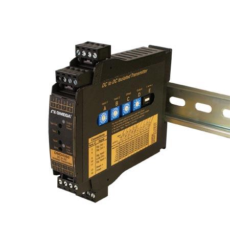 omega标准DIN导轨安装 隔离信号调节器