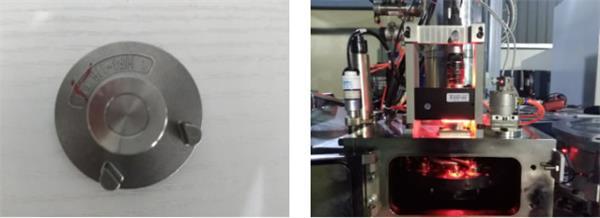 汽车发动机阀门焊接视觉定位