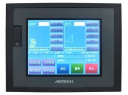 ADT-TP3540 四轴触摸式运动控制器