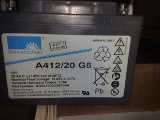 德国阳光蓄电池A412/20G5常见问题