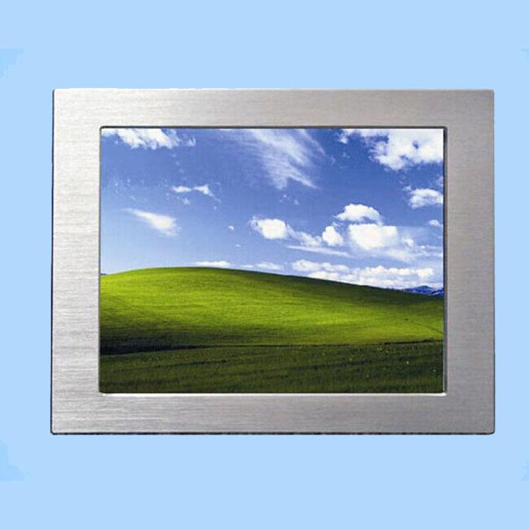 广州研恒眼睛厂家12寸嵌入式触摸无风扇工业平板电脑 可定制