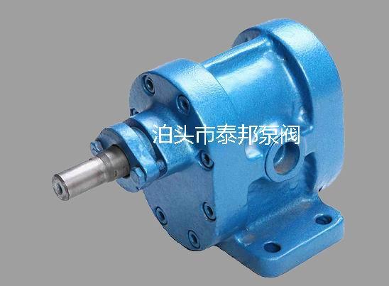 2CY齿轮泵有怎样的结构形式和传动方式