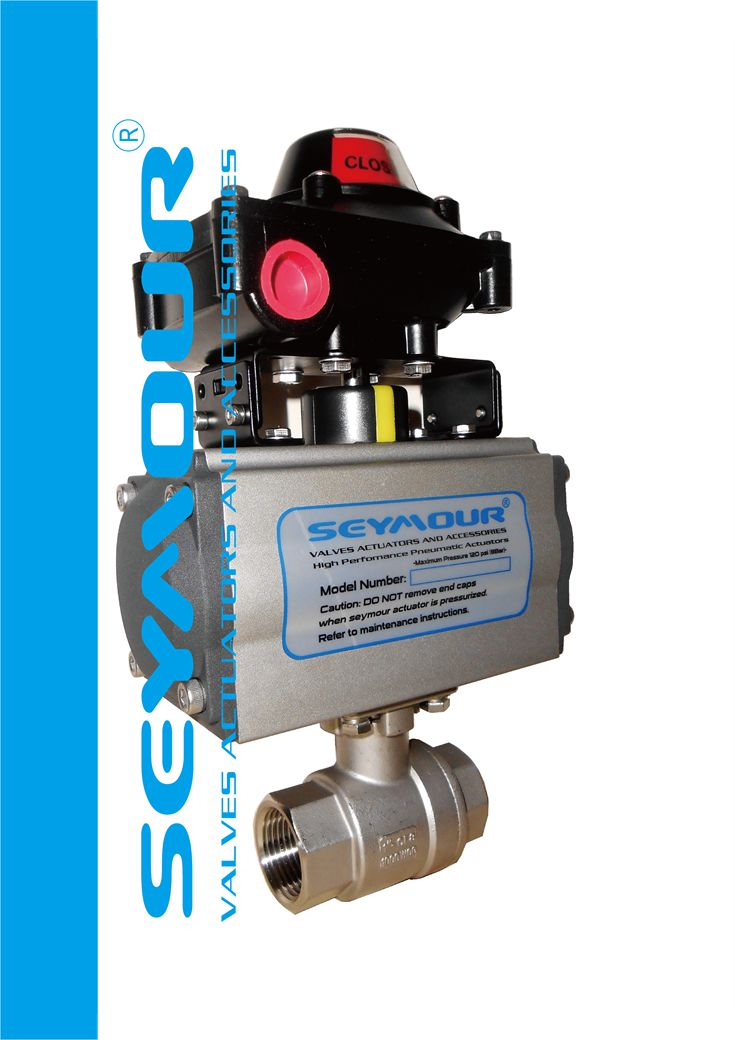 SEYMOUR高性能铝合金活塞式气动阀门执行机构