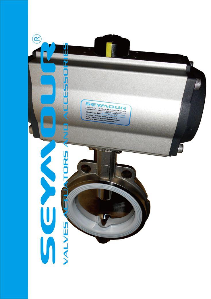 气动不锈钢蝶阀seymour高性能气动阀门执行器,专业用于化工制药行业,品质顶尖。