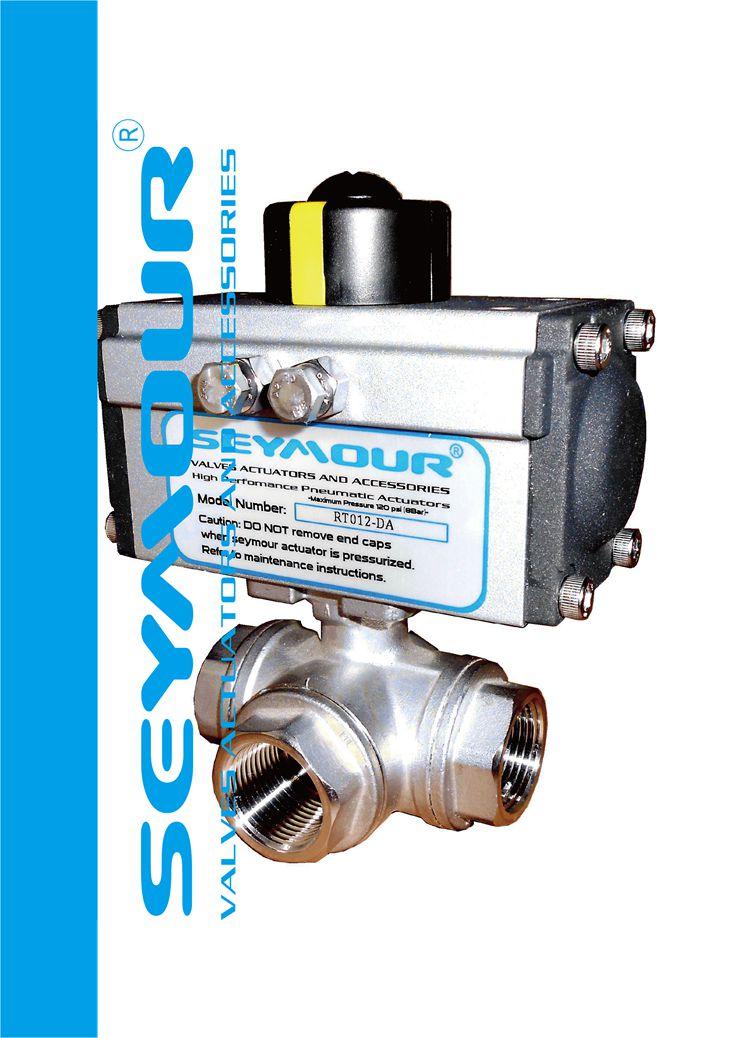 气动三通球阀-分流/合流-SEYMOUR专业为设备配套使用