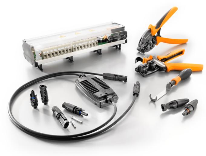 魏德米勒适用于光伏系统的组件和方案