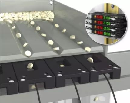 小物体计数应用 | DF-G2-NC/PC光纤放大器