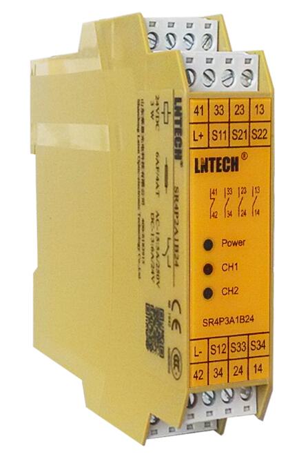 lntech安全继电器,Cat.4,Ple3