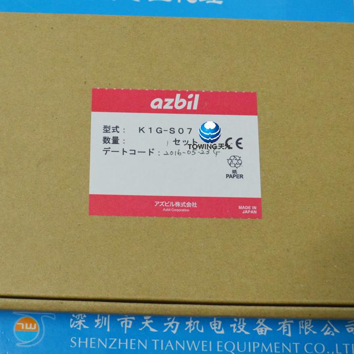 AZBIL山武高精度纠偏传感器K1G-S07
