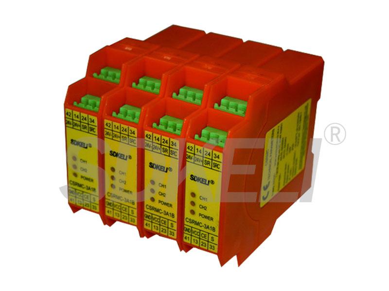 安全繼電器模塊CSRMA(控制急停按鈕和安全門開關)