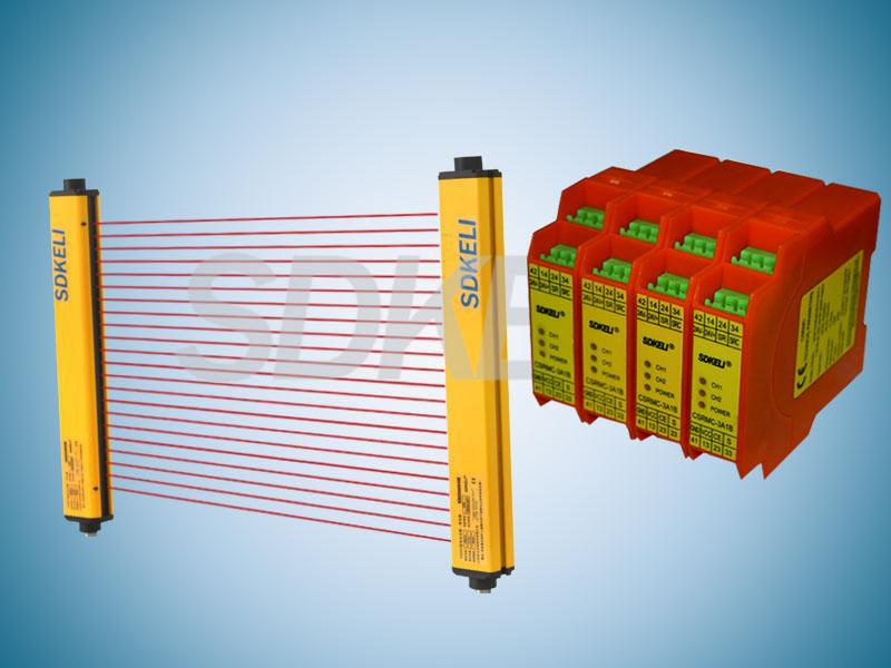 KS06型光電保護保護裝置配CSRMC型安全繼電器模塊