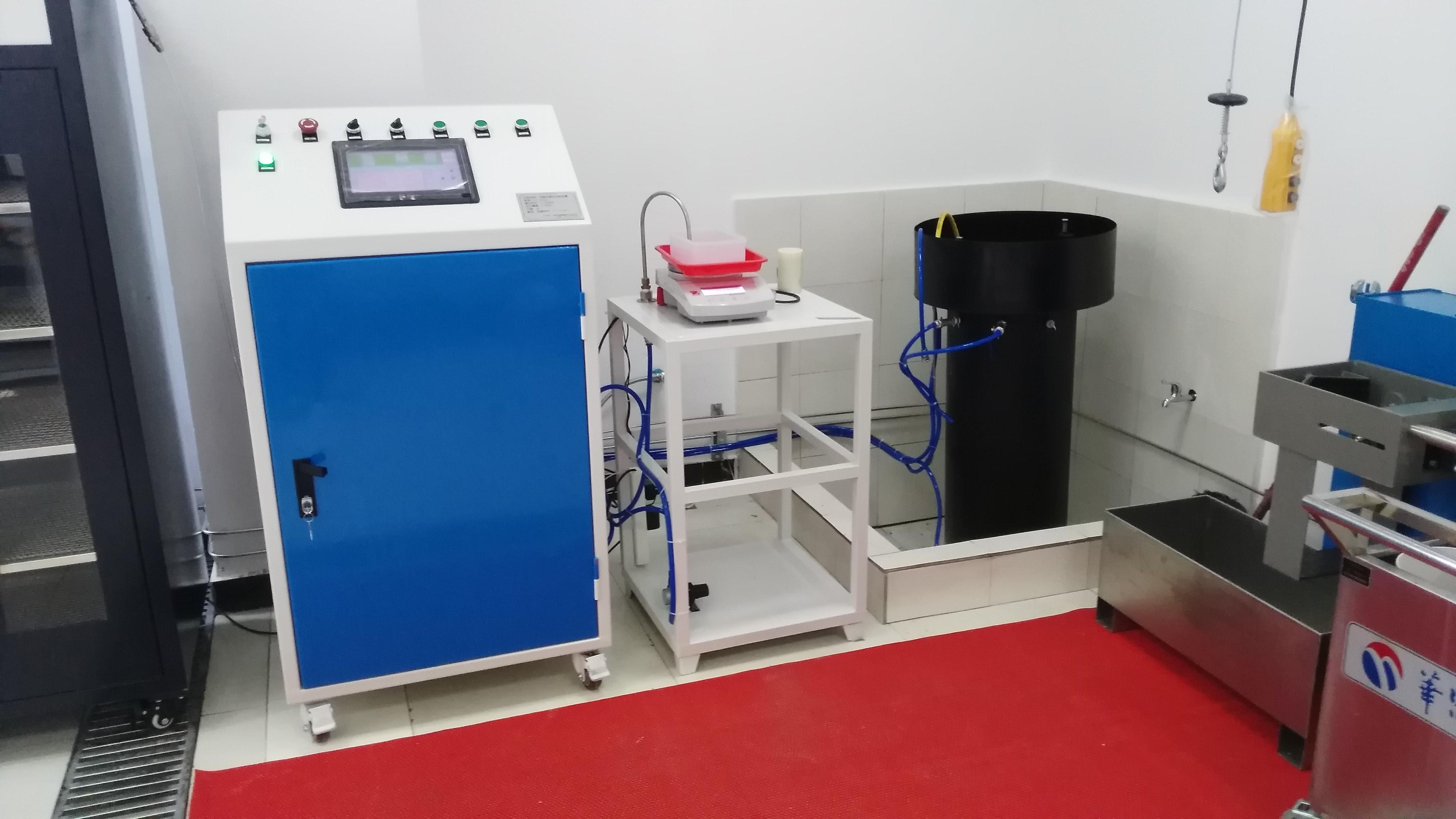 &呼吸器气瓶外测法  水压检测
