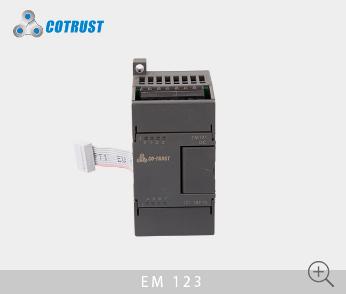 EM123数字量输入输出模块,晶体管输出(123-1BF10)