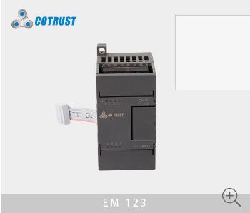 EM123数字量输入输出模块,继电器输出(123-1HF10)